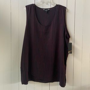 GNW sleeveless blouse 2x